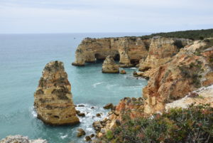 Algarve Felsformation Eva-Maria Flucher